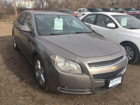 2011 Chevrolet Malibu for sale at BARNES AUTO SALES in Mandan ND