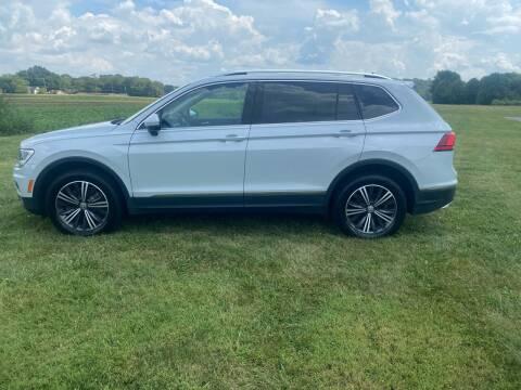 2018 Volkswagen Tiguan for sale at Wendell Greene Motors Inc in Hamilton OH