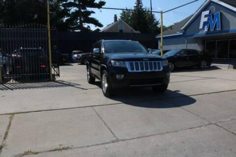 2012 Jeep Grand Cherokee for sale at F & M AUTO SALES in Detroit MI