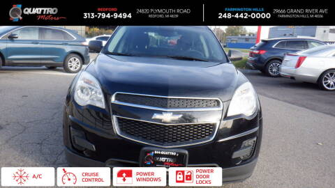 2015 Chevrolet Equinox for sale at Quattro Motors 2 in Farmington Hills MI