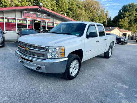 2012 Chevrolet Silverado 1500 for sale at Mira Auto Sales in Raleigh NC