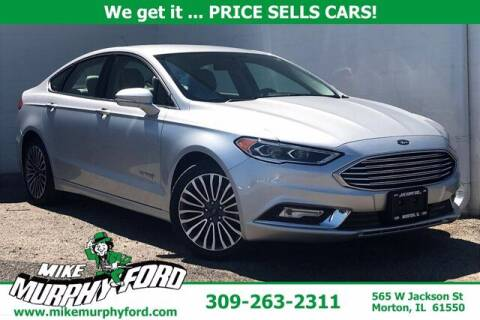 2017 Ford Fusion Hybrid for sale at Mike Murphy Ford in Morton IL