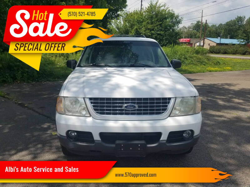 2003 Ford Explorer for sale at Albi's Auto Service and Sales in Archbald PA