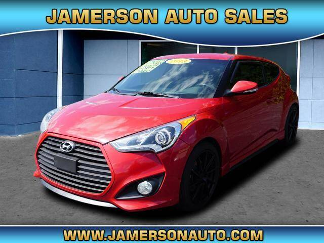2013 Hyundai Veloster for sale at Jamerson Auto Sales in Anderson IN