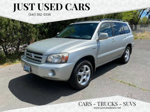 2006 Toyota Highlander for sale at Just Used Cars in Bend OR