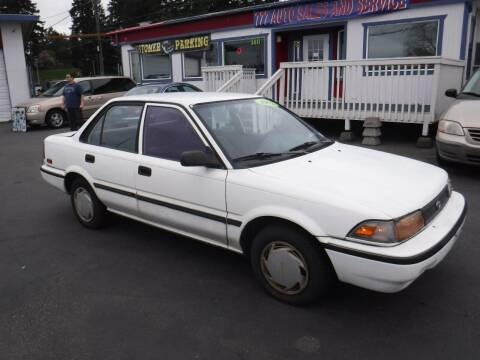 1992 Toyota Corolla for sale at 777 Auto Sales and Service in Tacoma WA