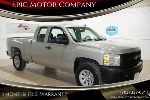 2008 Chevrolet Silverado 1500 for sale at Epic Motor Company in Chantilly VA