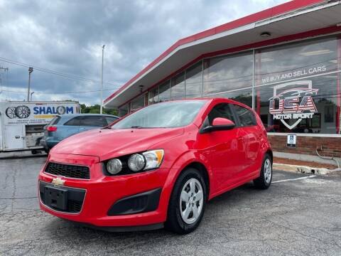 2015 Chevrolet Sonic for sale at USA Motor Sport inc in Marlborough MA