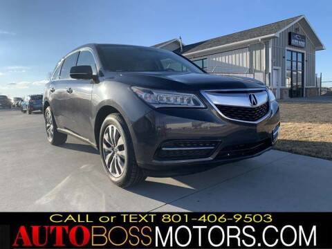 2014 Acura MDX for sale at Auto Boss in Woodscross UT