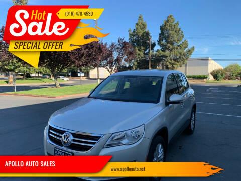 2009 Volkswagen Tiguan for sale at APOLLO AUTO SALES in Sacramento CA