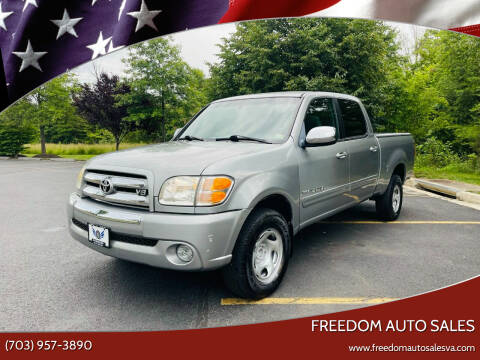 2004 Toyota Tundra for sale at Freedom Auto Sales in Chantilly VA