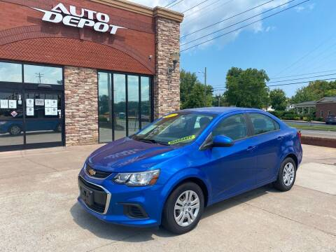 2017 Chevrolet Sonic for sale at Auto Depot of Madison in Madison TN