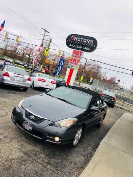 2007 Toyota Camry Solara for sale at i3Motors in Baltimore MD