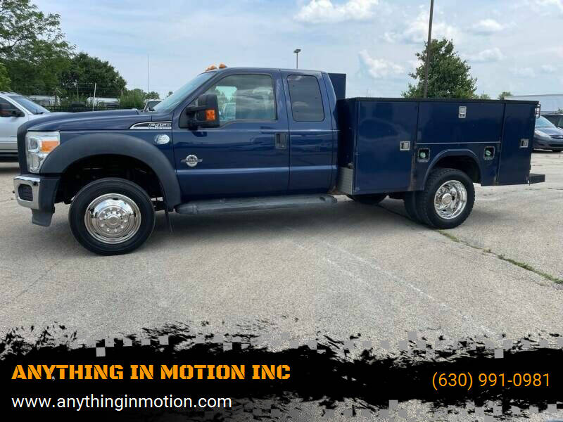 2012 Ford F-450 for sale at ANYTHING IN MOTION INC in Bolingbrook IL