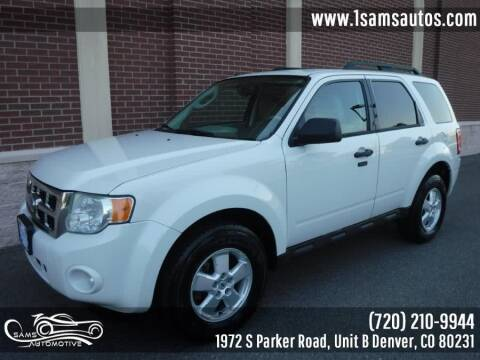 2010 Ford Escape for sale at SAM'S AUTOMOTIVE in Denver CO
