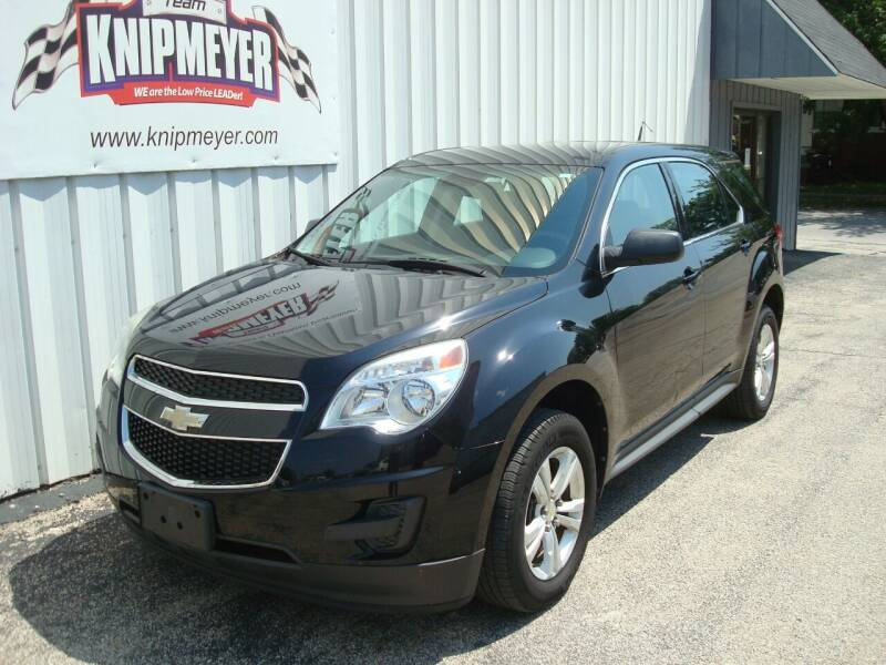 2012 Chevrolet Equinox for sale at Team Knipmeyer in Beardstown IL