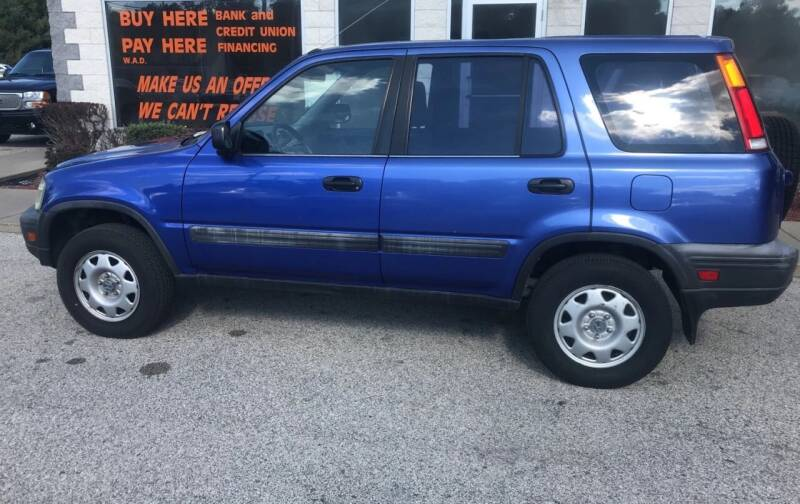 2001 Honda CR-V for sale at Anytime Auto in Muskegon MI