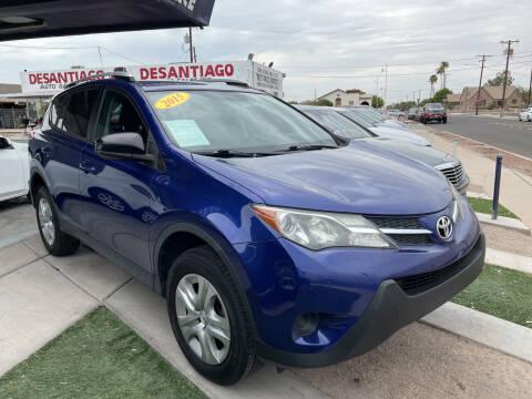 2015 Toyota RAV4 for sale at DESANTIAGO AUTO SALES in Yuma AZ