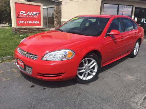 2013 Chevrolet Impala for sale at PLANET AUTO SALES in Lindon UT