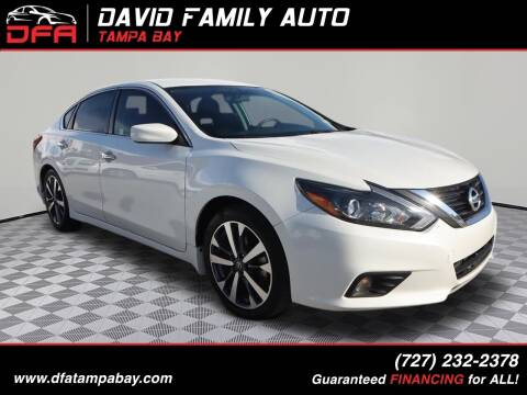 2017 Nissan Altima for sale at David Family Auto, Inc. in New Port Richey FL