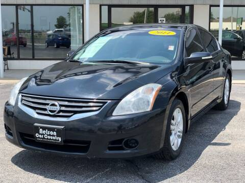 2011 Nissan Altima for sale at Nelson Car Country in Bixby OK