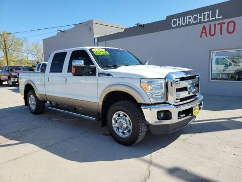 2012 Ford F-250 Super Duty for sale at CHURCHILL AUTO SALES in Fallon NV