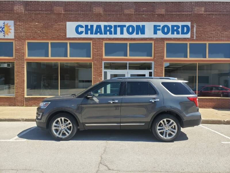 2017 Ford Explorer for sale at Chariton Ford in Chariton IA