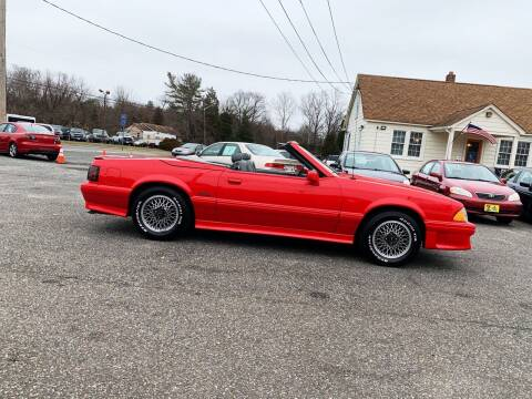 1988 Ford Mustang for sale at New Wave Auto of Vineland in Vineland NJ
