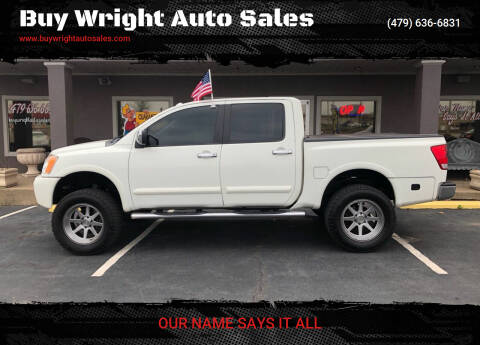 2011 Nissan Titan for sale at Buy Wright Auto Sales in Rogers AR