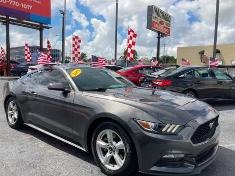 2015 Ford Mustang for sale at MACHADO AUTO SALES in Miami FL