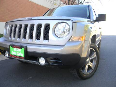 2016 Jeep Patriot for sale at Dasto Auto Sales in Manassas VA