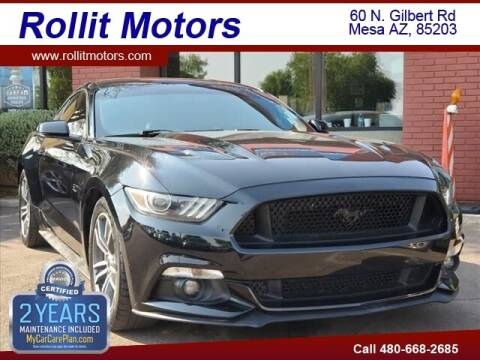 2016 Ford Mustang for sale at Rollit Motors in Mesa AZ