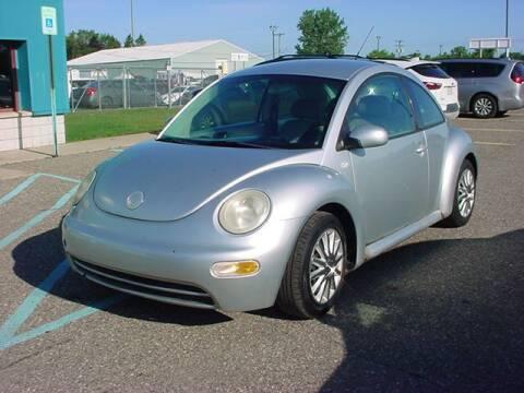 2003 Volkswagen New Beetle for sale at VOA Auto Sales in Pontiac MI