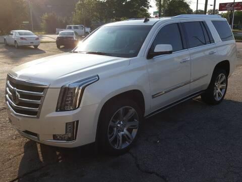 2015 Cadillac Escalade for sale at Premier Auto Sales Inc. in Newport News VA