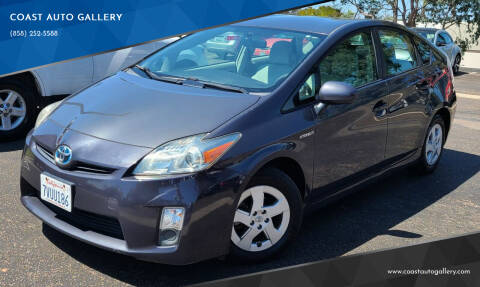 2010 Toyota Prius for sale at COAST AUTO GALLERY in San Diego CA