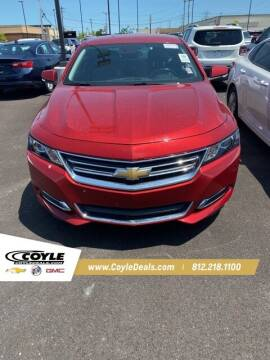 2014 Chevrolet Impala for sale at COYLE GM - COYLE NISSAN - New Inventory in Clarksville IN