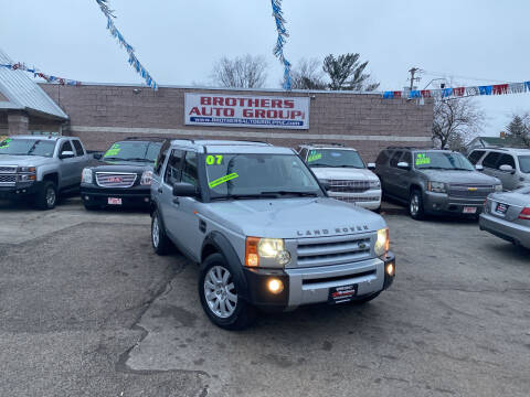 2007 Land Rover LR3 for sale at Brothers Auto Group in Youngstown OH