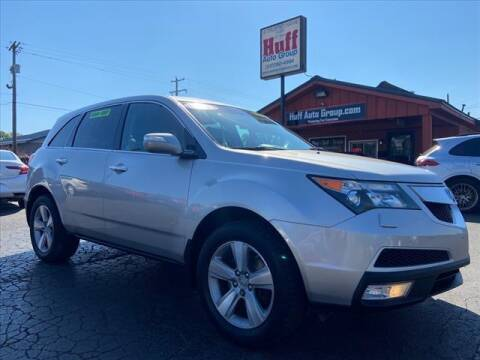 2012 Acura MDX for sale at HUFF AUTO GROUP in Jackson MI