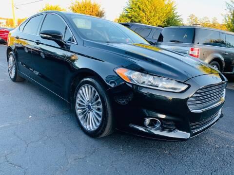 2013 Ford Fusion for sale at North Georgia Auto Brokers in Snellville GA