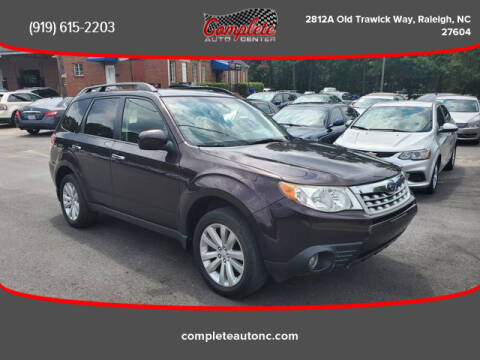 2013 Subaru Forester for sale at Complete Auto Center , Inc in Raleigh NC