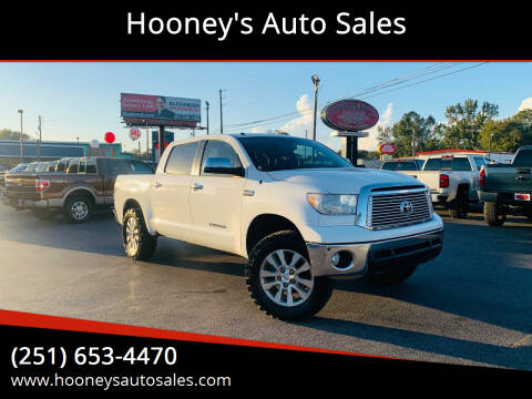 2013 Toyota Tundra for sale at Hooney's Auto Sales in Theodore AL