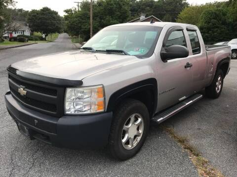 2007 Chevrolet Silverado 1500 for sale at TNT Auto Sales in Bangor PA