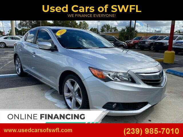2013 Acura ILX for sale at Used Cars of SWFL in Fort Myers FL