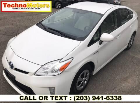 2014 Toyota Prius for sale at Techno Motors in Danbury CT