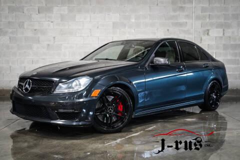 2013 Mercedes-Benz C-Class for sale at J-Rus Inc. in Macomb MI