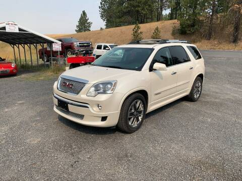 2012 GMC Acadia for sale at CARLSON'S USED CARS in Troy ID