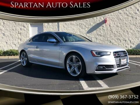 2014 Audi S5 for sale at Spartan Auto Sales in Upland CA