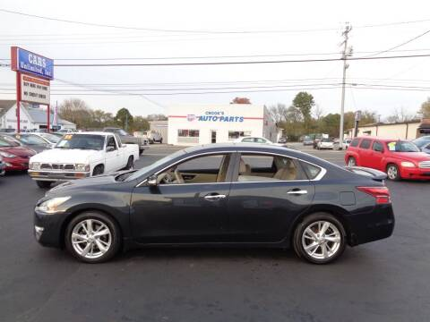 2013 Nissan Altima for sale at Cars Unlimited Inc in Lebanon TN