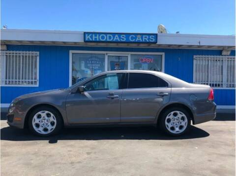 2011 Ford Fusion for sale at Khodas Cars in Gilroy CA