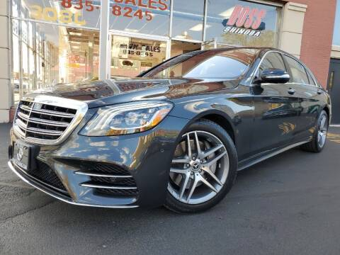 2018 Mercedes-Benz S-Class for sale at FOUR M SALES in Buffalo NY